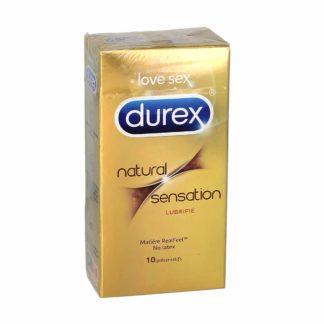 Durex Naturel Sensation Préservatifs Lubrifiés