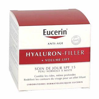 Eucerin Hyaluron Filler + Volume Lift Soin de Jour Peau Normale à mixtes