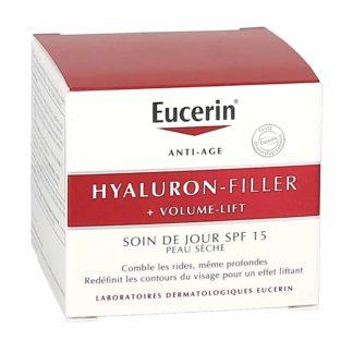 Eucerin Hyaluron Filler + Volume Lift Soin de Jour Peau Sèche