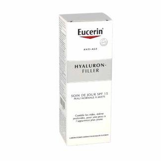 Eucerin Hyaluron-Filler Soin de Jour SPF15 peaux Normales à Mixtes