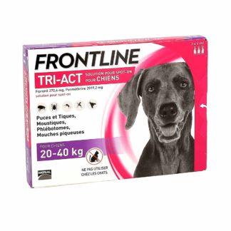 Frontline Tri-Act Solution pour Spot-On Chiens de 20-40kg