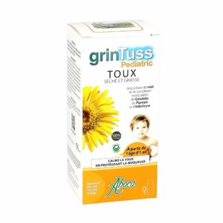 Grintuss Pediatric Sirop Toux Sèches et Grasses