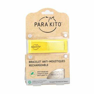 Parakito Bracelet Adultes Anti-Moustiques Rechargeable et 2 plaquettes