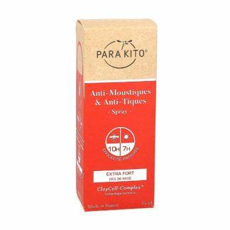 Parakito Spray Protection Extra-Forte Anti-Moustiques et Anti-Tiques