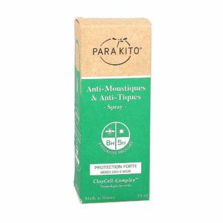 Parakito Spray Protection Forte Anti-Moustiques et Anti-Tiques