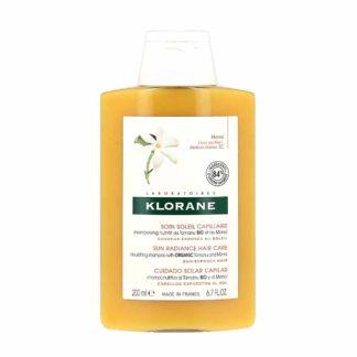 Klorane Shampooing Soin Soleil Nutritif au Tamanu Bio et au Monoi
