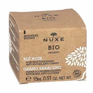 Nuxe Bio Organic Blé Noir Soin Yeux Energisant Anti-Poches