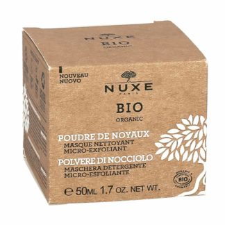 Nuxe Bio Organic Poudre de Noyaux Masque Nettoyant Micro-Exfoliant