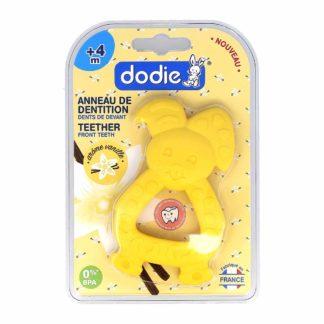 Dodie Anneau de Dentition Lapin Jaune Arôme Vanille +4 mois