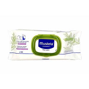 Mustela Lingettes Nettoyantes à l'Huile d'Olive