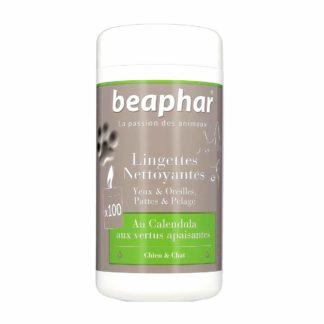 Beaphar Lingettes Nettoyantes Yeux et Oreilles Pour Chiens et Chats