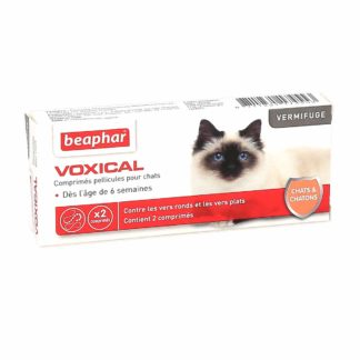 Beaphar Voxical Vermifuge Chats