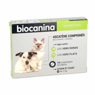 Biocanina Ascatène Vermifuge pour Chiens et Chats