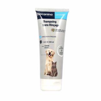 Biocanina Shampoing Sans Rinçage Pour Chien et Chat