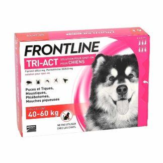 Frontline Tri-Act Solution pour Spot-On Chiens de 40-60kg