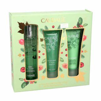 Caudalie Coffret de Noël 2020 Le Trio Parfumé Eau des Vignes, coffret de 3 produits