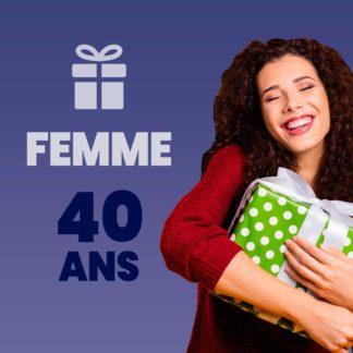 Cadeau femme 40 ans
