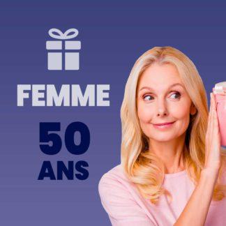Cadeau femme 50 ans