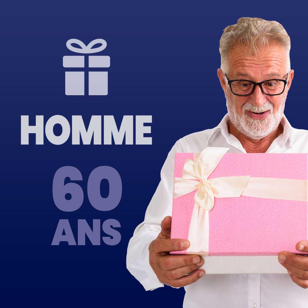 Cadeau homme 60 ans
