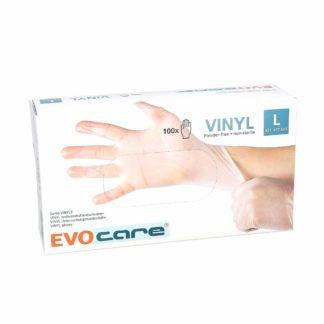 Evocare Gants Vinyle Non Poudrés Taille L