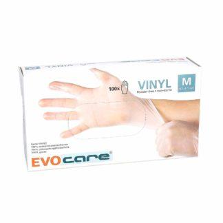 Evocare Gants Vinyle Non Poudrés Taille M