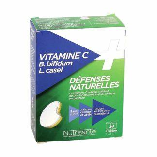 Nutrisanté Défenses Naturelles Vitamine C + B.Bifidum L. Casei