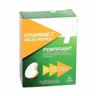 Nutrisanté Fortifiant Vitamine C + Gelée Royale