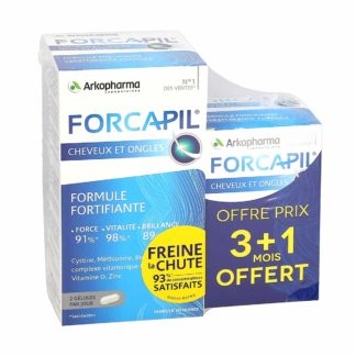 Arkopharma Forcapil Fortifiant Cheveux et Ongles