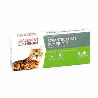 Clément Thekan Strantel Vermifuge pour Chats