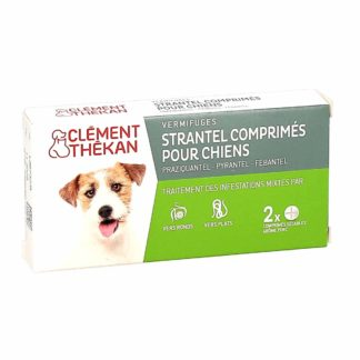 Clément Thekan Strantel Vermifuge pour Chiens