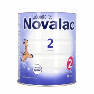 Novalac 2 Lait pour Bébé 6-12 mois