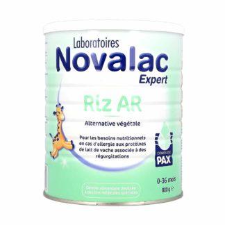Novalac Expert Riz AR Alternative Végétale Lait pour Bébé 0-36mois